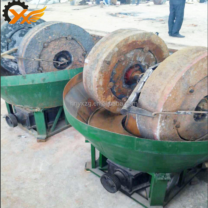 1200A gold wet pan mill, wet pan mill price supplier with 200sets in the stock