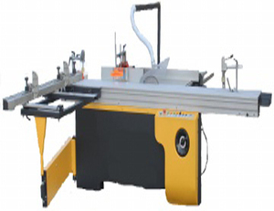 Precision Panel Saw machine with Saw and Moulder SHM6132-TZ.GA with Dimensions sliding table 3200x370mm