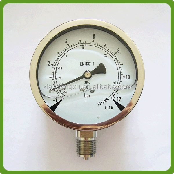 Top quality hot sell china water pressure gauge digital