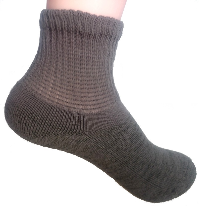 Warm winter terry hoseiry socks
