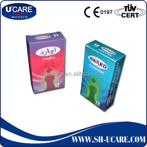 European condom size
