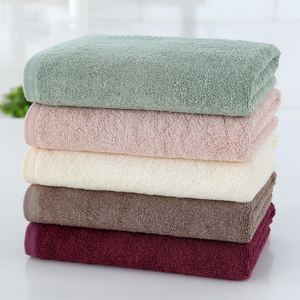 Plain Dyed Pattern and Quick-Dry Feature Good Water Absorbent 100% organic bamboo towel
