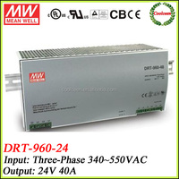 Meanwell power supply switching DRT-960-24