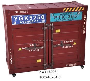 Rode Grote Vintage Gift Container Vorm Houten Tv Kast Buy Houten Tv Kastrode Container Kastcontainer Vorm Kast Product On Alibabacom
