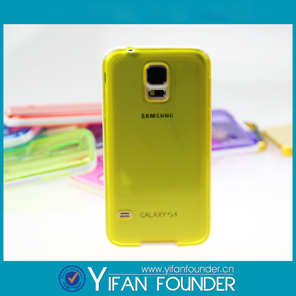 Newest arrival mobile phone case for samsung galaxy S5 ,for samsung galaxy s5 i9500 soft TPU case