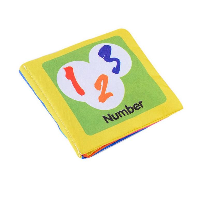 Мягкая ткань, детские книги для мальчиков и девочек, звук шелеста, детская развивающая коляска, погремушка, игрушки для новорожденных, 0-12 ме...(Китай)