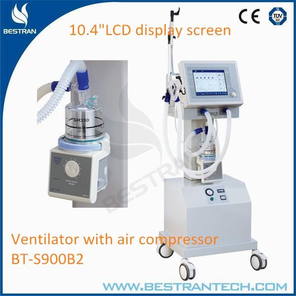 Hospital Ventilator Air : China bt s b hospital ventilator with air compressor