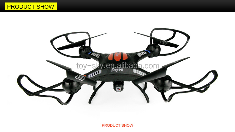 New Toys 2016 Big Size Two Control Mode 24G RC Wifi Fpv Quadcopter Drone With