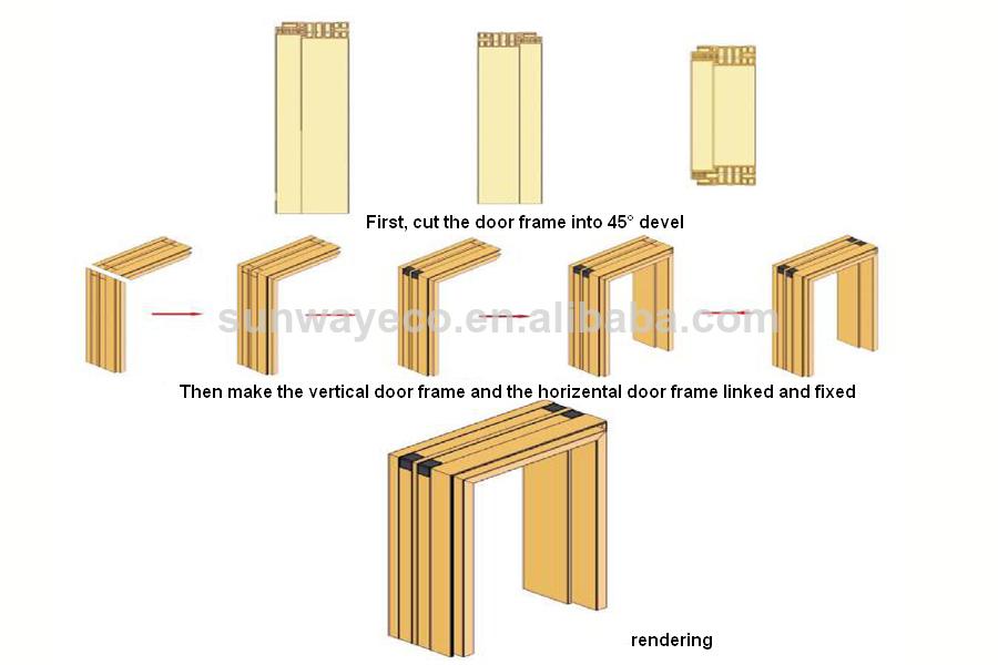 Composite Window Frame : Eco friendly wood plastic composite window frame buy