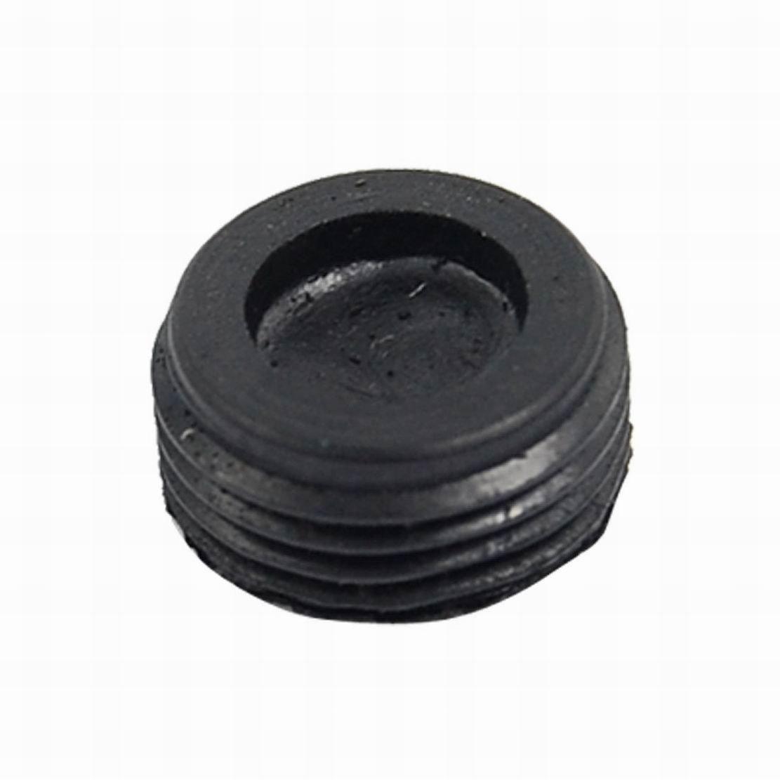 Ugtell 20 Pcs Threaded 12mm Dia Carbon Brush Holder Back Cover
