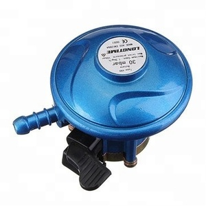 MN cooking lpg gas cylinder regulator with meter