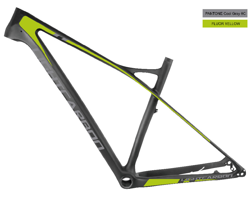 Lightcarbon 29er Hard Tail Chinese Carbon Frame For Mtb With Toray ...