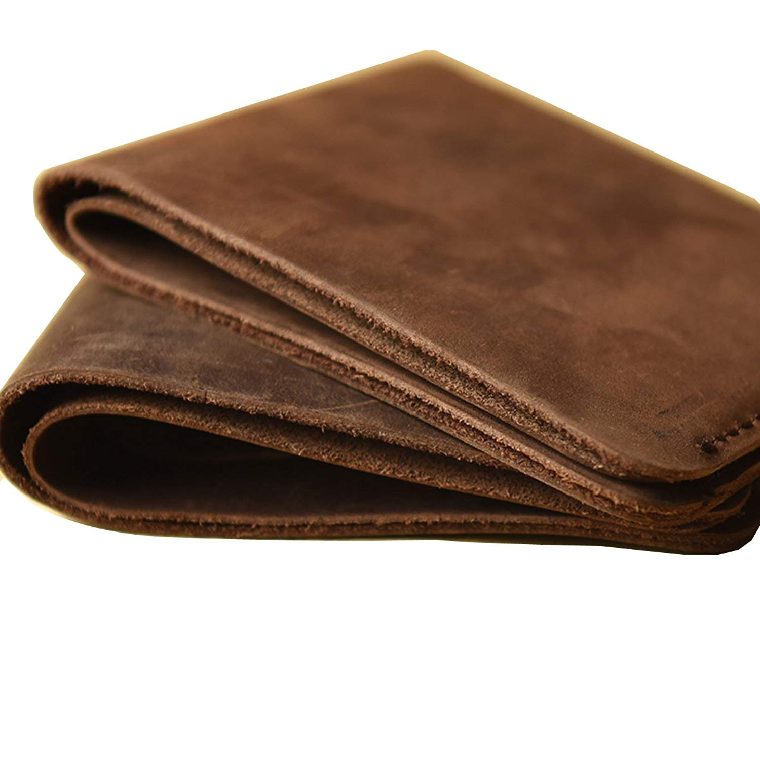 Handmade Men's Wallet TOP-GRAIN Genuine Leather Wallet Bifold Slim Leather Wallet,Classic Bill-fold Wallet, Distressed Leather Wallet Card Holder