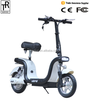 12inch Wheel Hello Kitty Pink Electric Bike Electric Scooter Folding