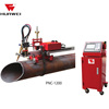 Portable CNC Steel Pipe Tube Plasma Cutting Machine With PNC-1200A Chinese Huawei Low Cost Fast Delivery