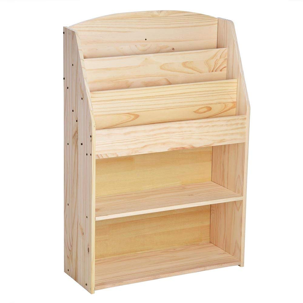 2018 modern design small furniture bookcase corner bookshelf portable wood book shelf