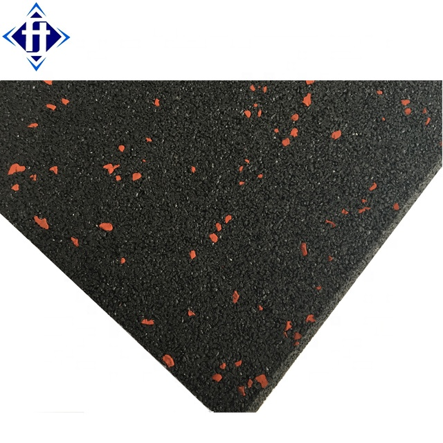 20mm Thick Gym Rubber Floor Tile