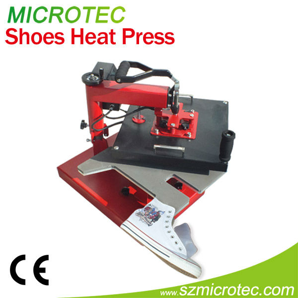 Shoes Heat Press Machine sublimation printing for leather shoes