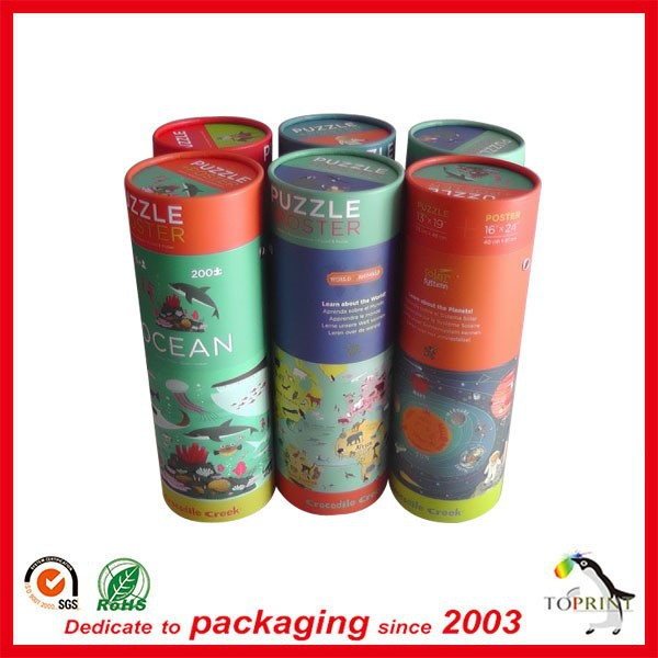 Alibaba supplier cheap price square cardboard tubes high resolution colorful printing round box free sample/design cosmetic/gift