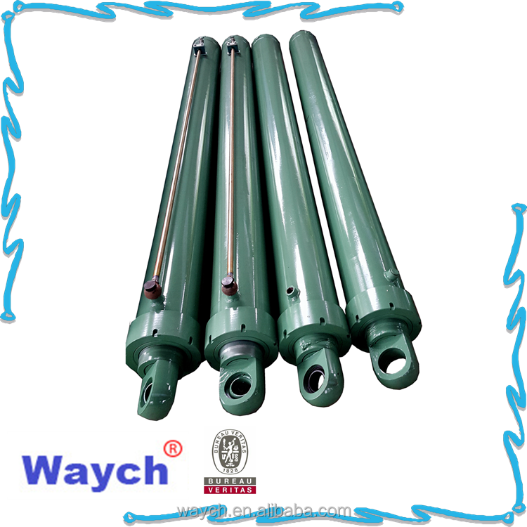 China waych double acting hydraulic piston cylinder