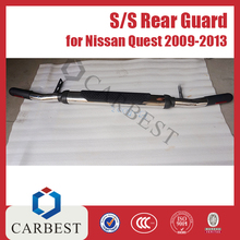 High Quality Stainless Steel Rear Guard For Nissan Quest 2009-2013