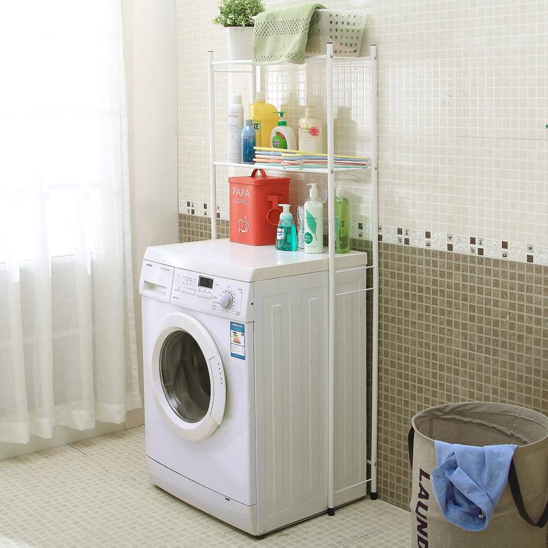 gro en doppel schicht waschmaschine bodenst nder bad handtuch regal regal in produkt option. Black Bedroom Furniture Sets. Home Design Ideas