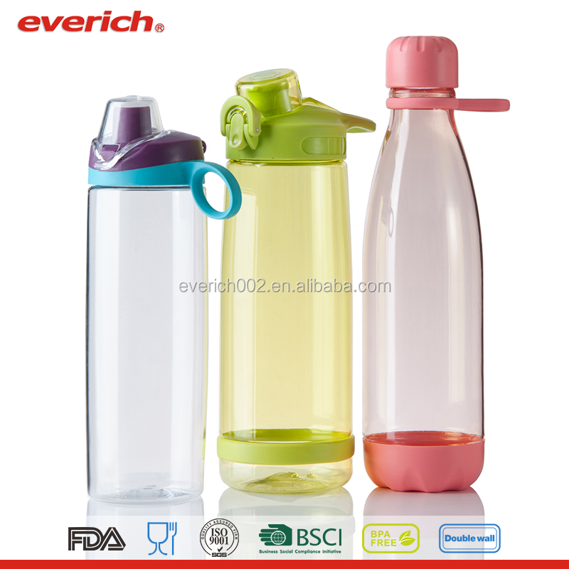 Plastic thermo water bottle OEM