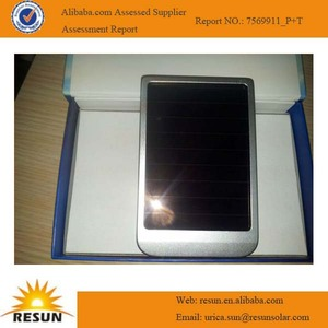 Portable rechargeable solar sun charger mobile