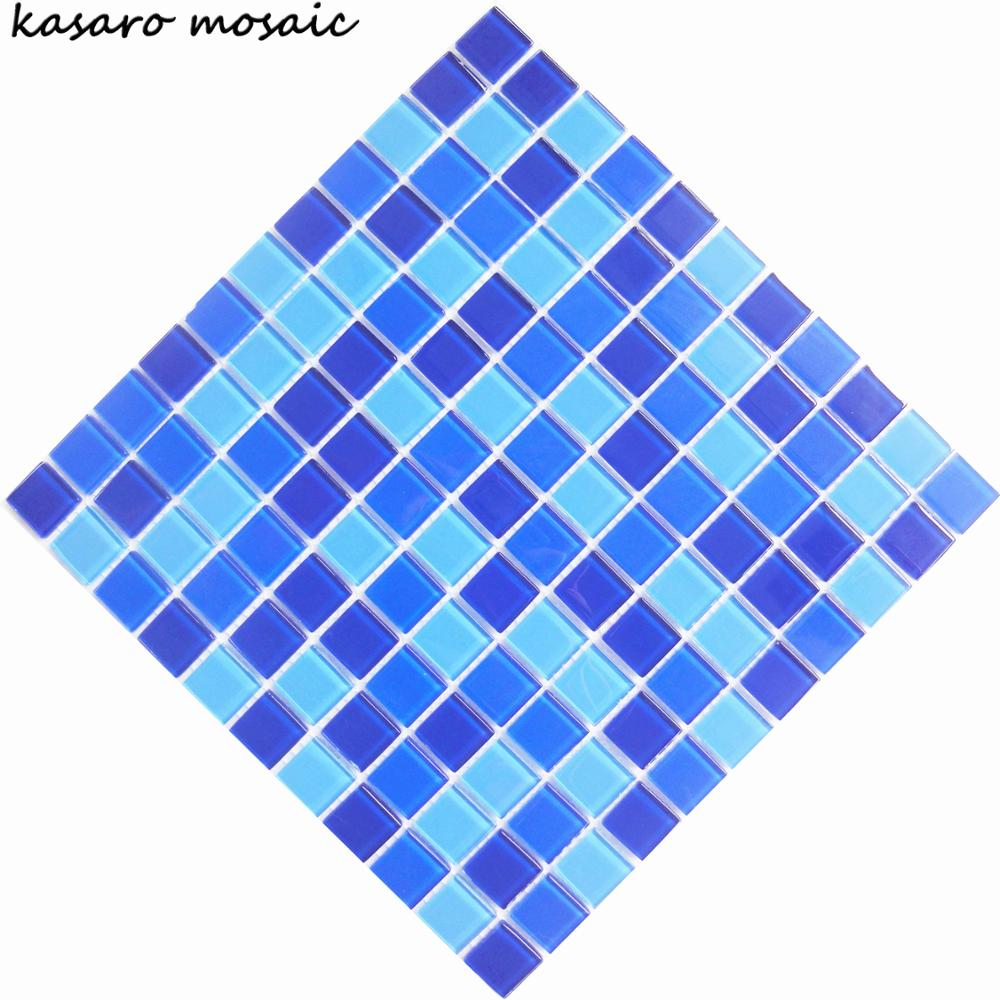 Discount Blue Glass Mosaic Tile For Swimming Pool Tile - Buy Swiming ...