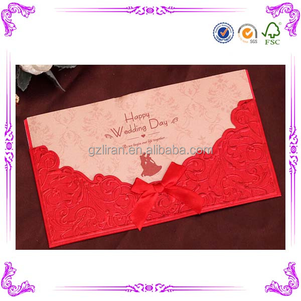 Best Sale China Wedding Invitation Card Designs For Handmade – Best Invitation Cards