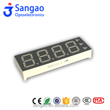 4 inch four digits number led display/custom-made led display