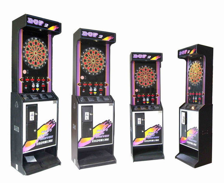 Coin Operated Dart Machine / Dartboard Machine/Deluxe Edition Arcade Dart Game