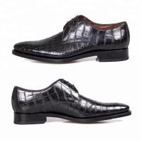 New arrival top quality designer genuine crocodile skin shoes for men