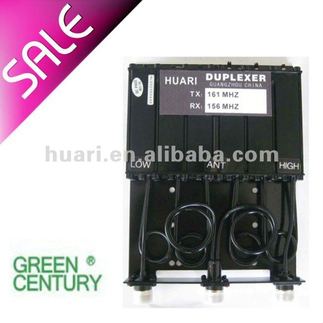 VHF/UHF Duplexer For Transceivers