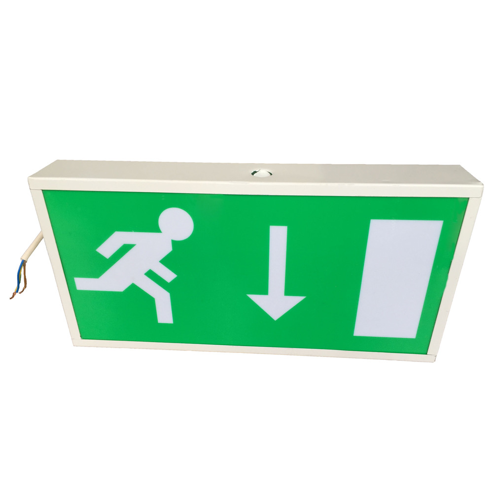 smd ijzeren kist routes uitgang nooduitgang tekenen boord exit sign verlichting sl030am