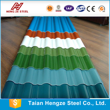 Prepainted galvanized corrugated steel sheets/ Prepainted roofing sheets/ Cured color sheets for roof