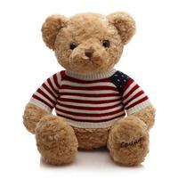 Provide pattern custom stuffed animal toys plush teddy bear with sweater