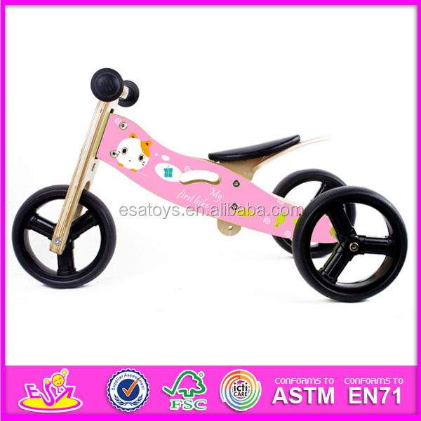 New And Popular Wooden Toy Kids Bicycle,Fashion And Modern Wooden ...