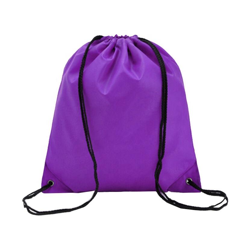 Недорогой водонепроницаемый рюкзак на шнурке из полиэстера