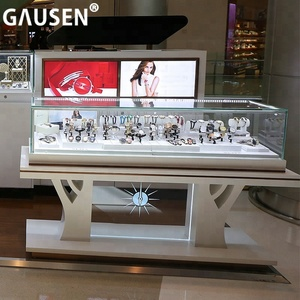 high end wooden watch shop display counter furniture / watch display cabinet