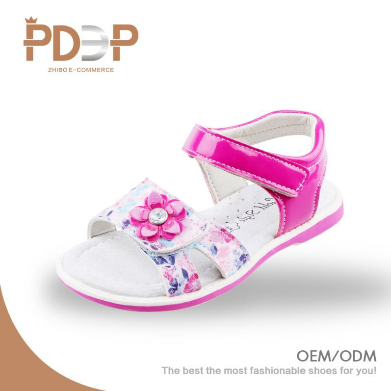 Most popular design PU cheap kids jelly shoes