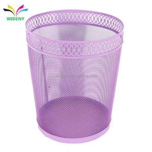 China supplier wholesale household products high quality embossing home fancy lowes stainless steel trash can