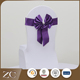 Top selling purple beautiful wholesale chair sashes