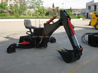 3 point backhoe attachment for wheel loader