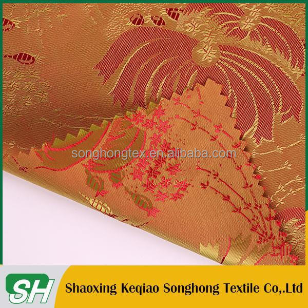 China supplier 10 years experience Good Look high density viscose jacquard fabric