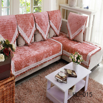 Luxury Design Pink Best Sofa Cover Set