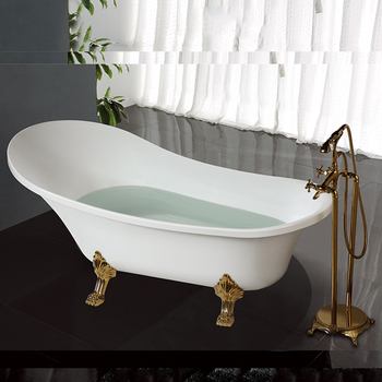 hs-b512 classical acrylic freestanding modern bathtubs with feet
