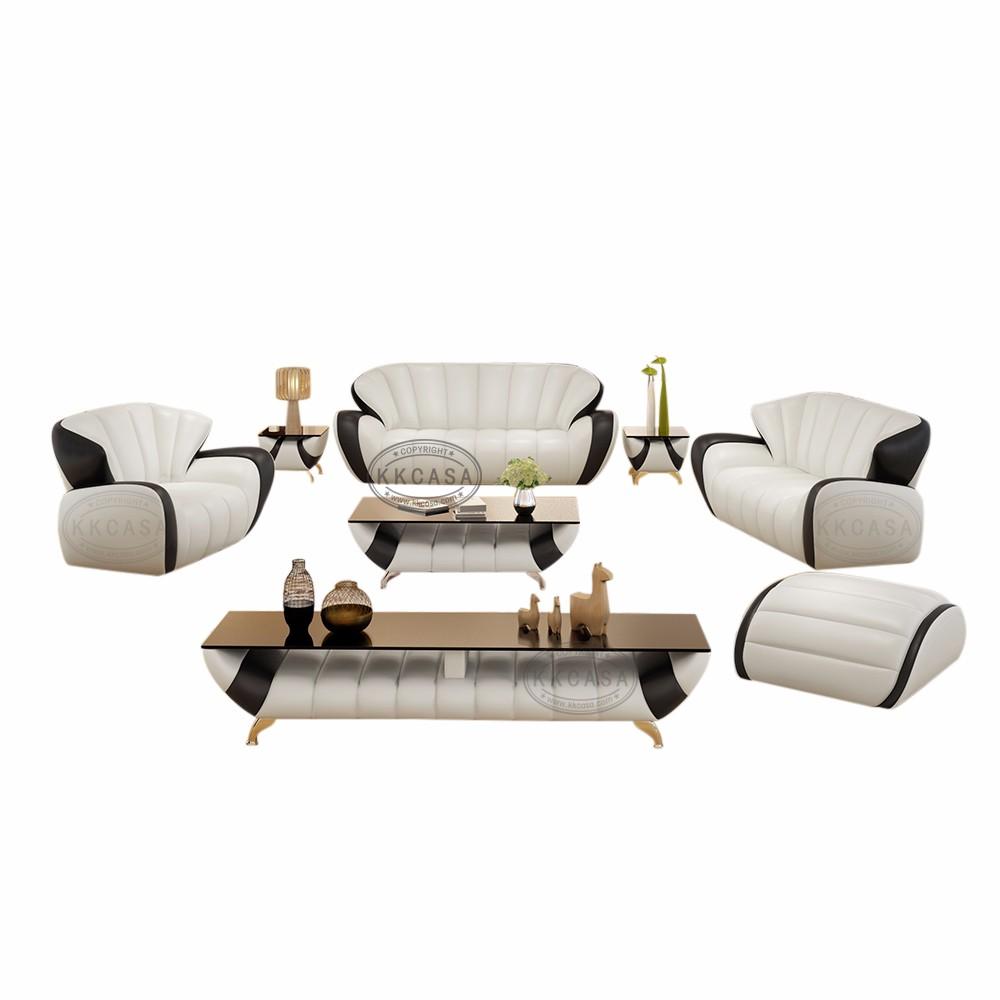 Latest Design High Quality Cheap Price Genuine Living Room ...