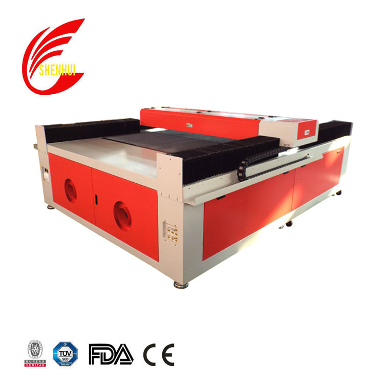 shenhui laser mdf fabric laser cutting machine