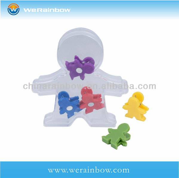 cheap promotional office gift magnetic memo clip